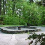 Kašna v zámeckém parku